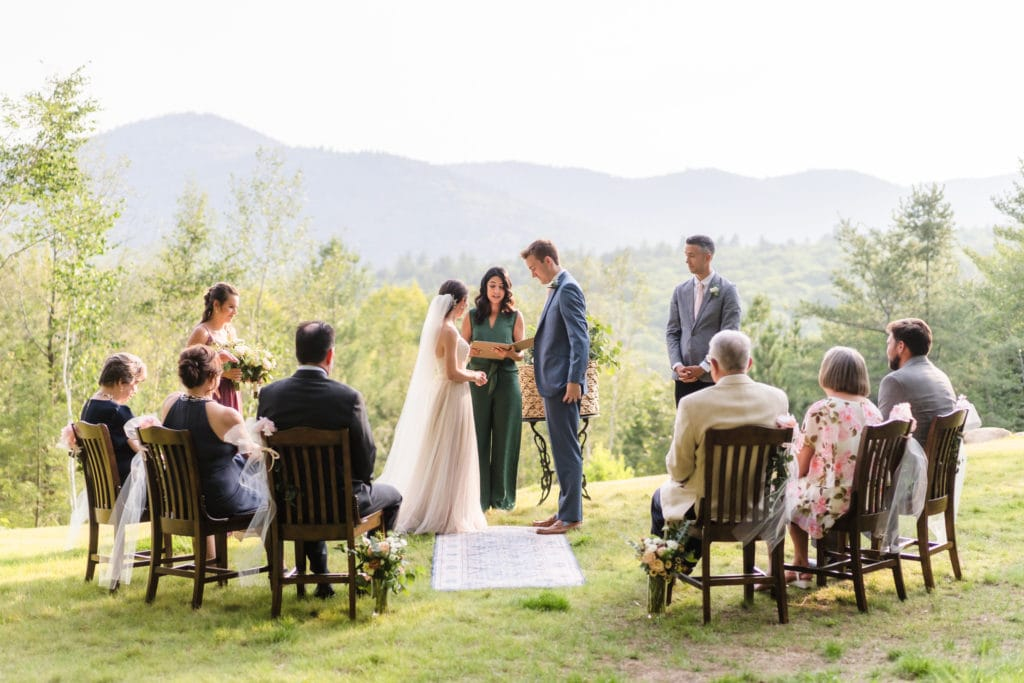Intimate Wedding In North Conway